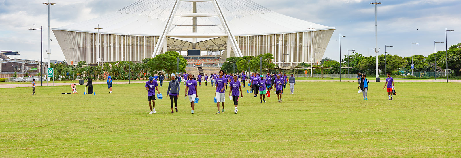 Premier Skills training program at Moses Mabhida Stadium in Durban