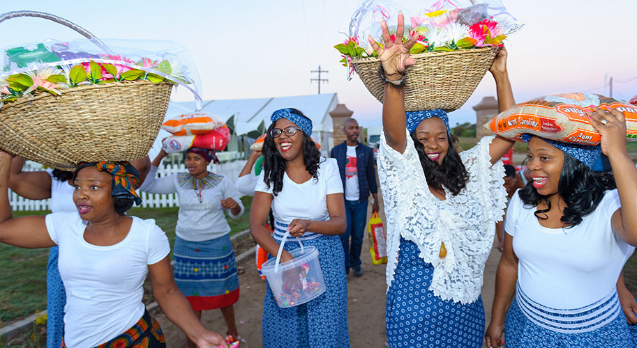 Zulu Traditional Wedding Decor Pictures