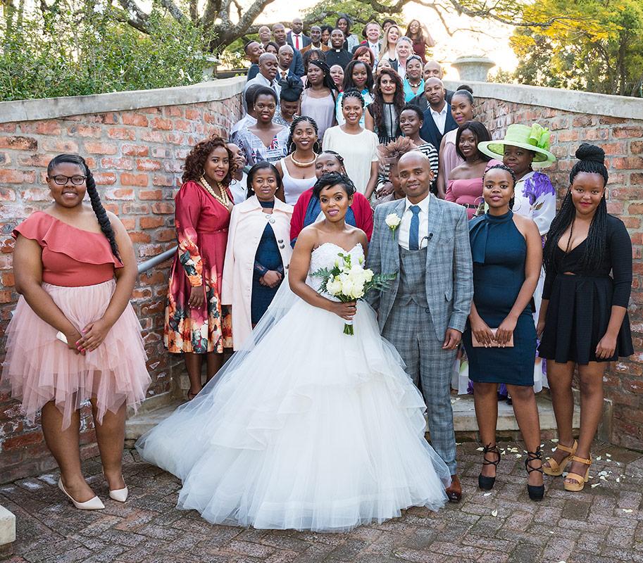Wedding At Maroupi Followed By The Traditional Zulu Wedding