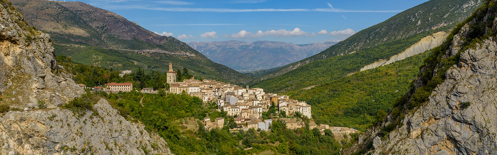 The town of Sulmona Italy