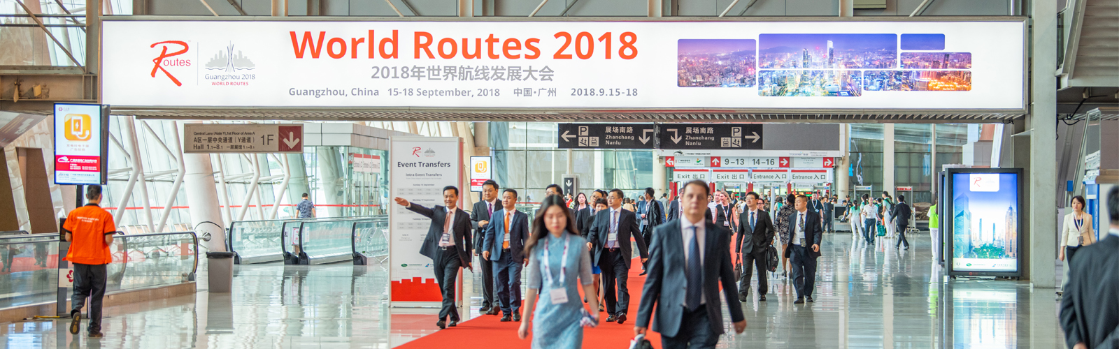 World Routes 2018 in Guangzhou, China