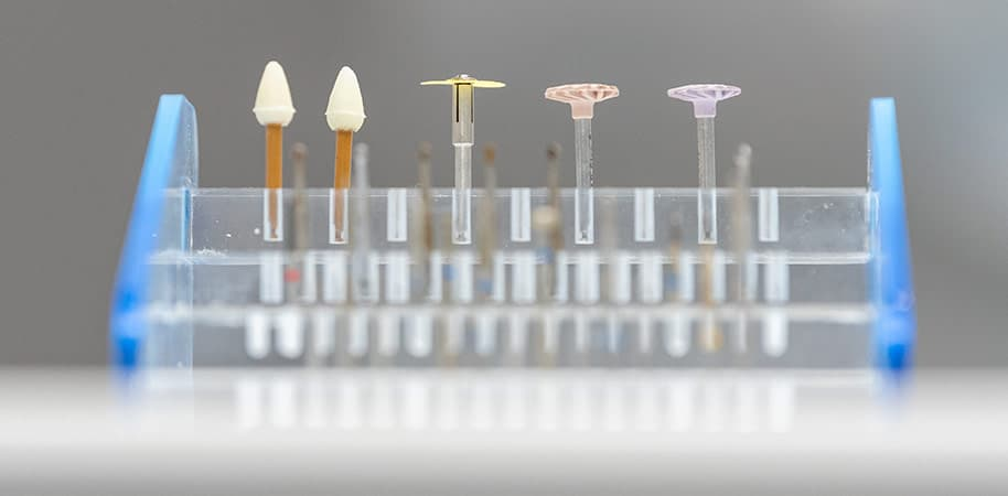 corporate photography of dentist equipment
